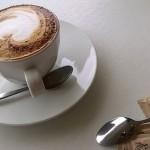 コーヒーカップとドーナツ